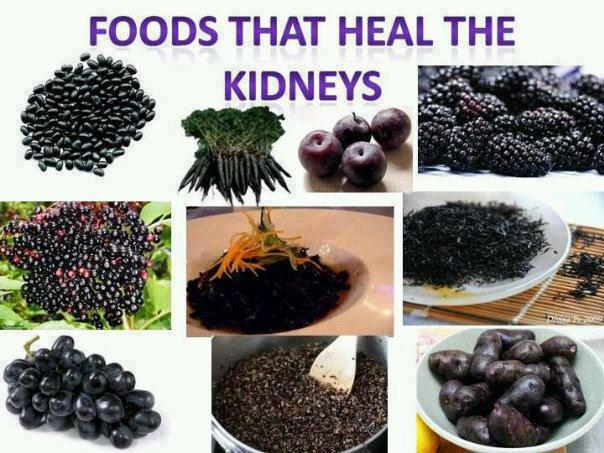 Healing naturally 101 kidney foods for Cuisine for healing